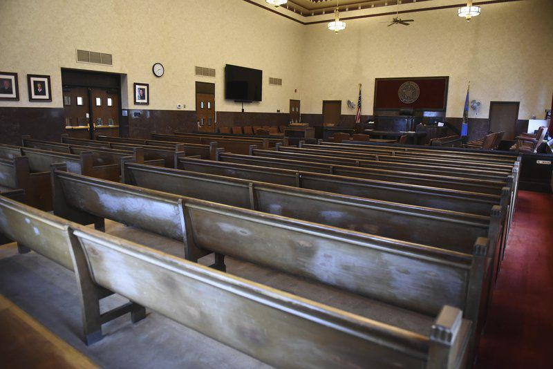 Courthouse goes virtual; filings and proceedings change to email