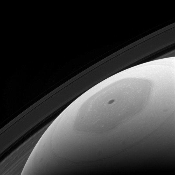 COLUMN: Saturn's pole has an unusual shape