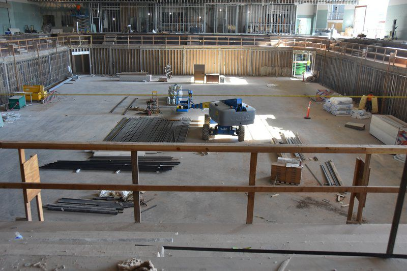 EHS gym, performing arts center to open in February