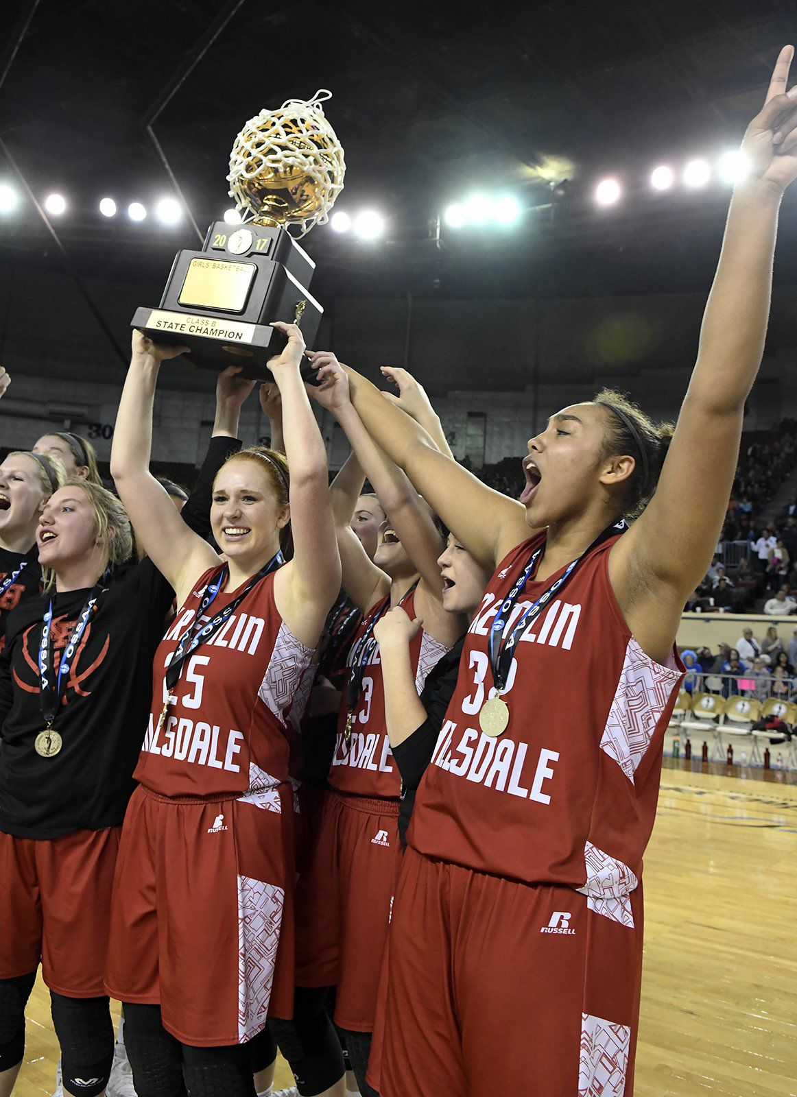 From the vault: Lady Broncs upset Lomega for first gold ball