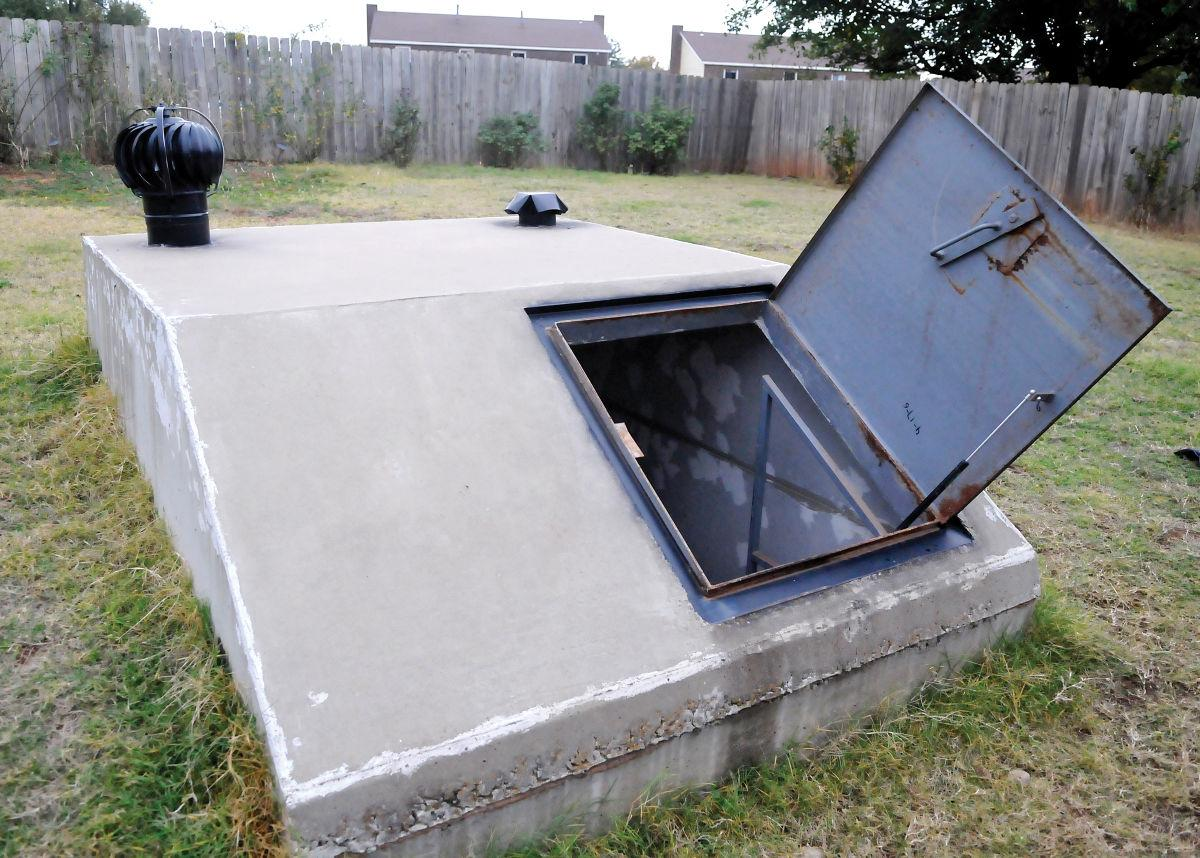 Portable Individual Shelters : Officials prefer use of personal storm shelters local