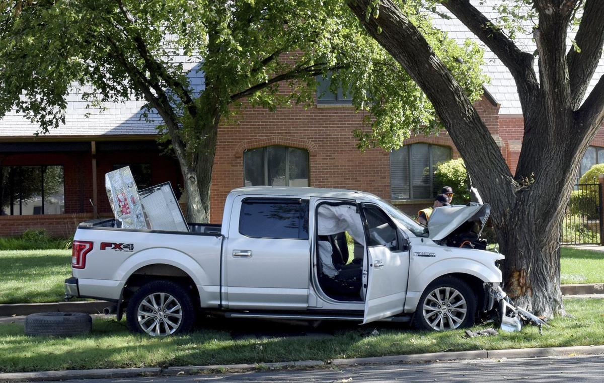 Enid man injured in Tuesday morning crash