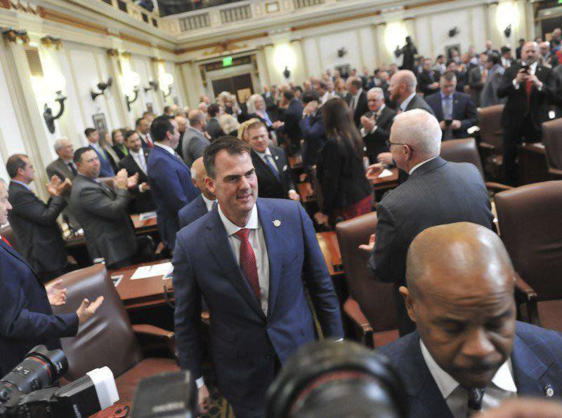 Political tests intensify for Stitt in 2nd year