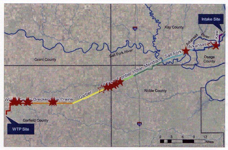 Critical steps ahead for Kaw Lake pipeline