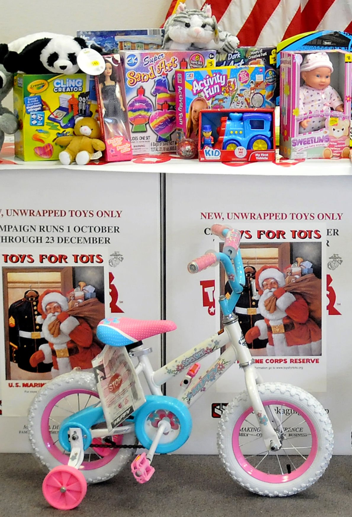 2 Toys For Tots : Local company offering donations to toys for tots as part