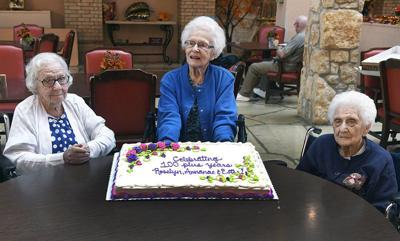 300+ years of experience: Golden Oaks honors three centenarians