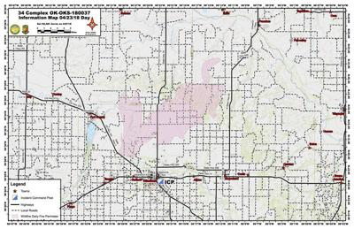 Moisture assists firefighting efforts in western Oklahoma | Local ...