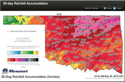 Dangerous and life-threatening' flooding situations across Oklahoma