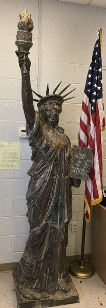 Eagle Scout project aims to put Lady Liberty back on the Downtown Square
