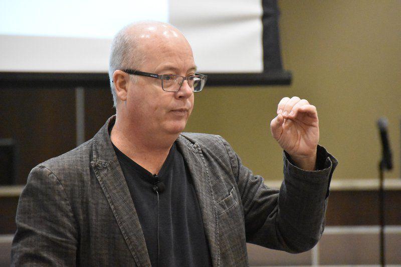 Hope helps students, speaker tells educators