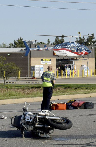Motorcyclist dies from injuries, passenger in critical condition