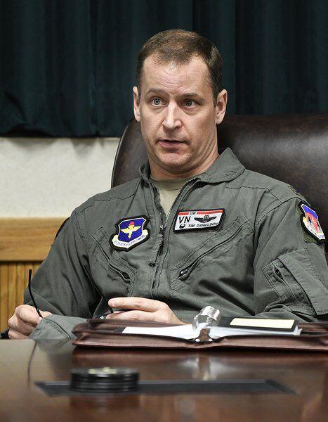 New Vance commander faces challenges to meet pilot production goals