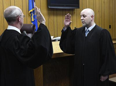 Seigars sworn in as newest judge