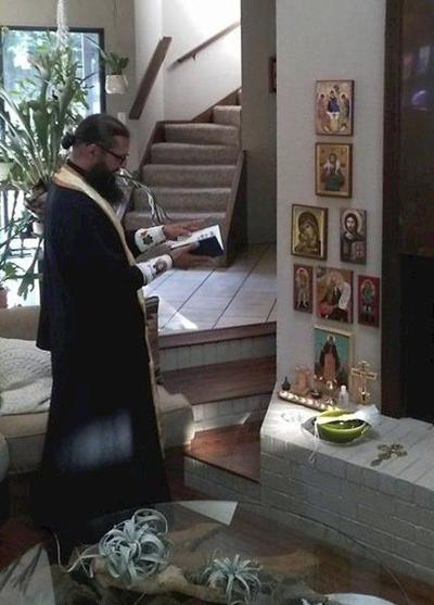 Orthodox service celebrated in Enid, possibly for first time