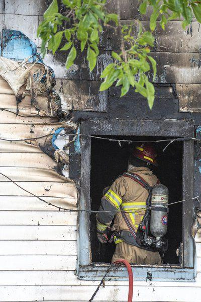 Bedroom fire damages North Adams home