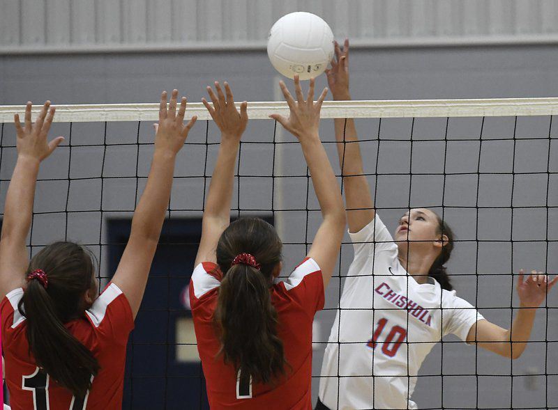 OBA volleyball defeats Chisholm for second time this season