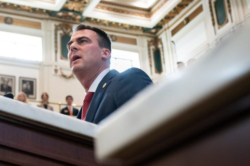 Stitt's office pays lobbyist for federal COVID-19 funds advice