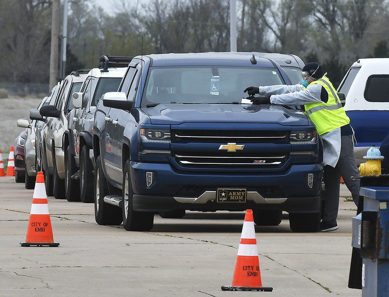 98 tests administered at drive-through clinic Friday