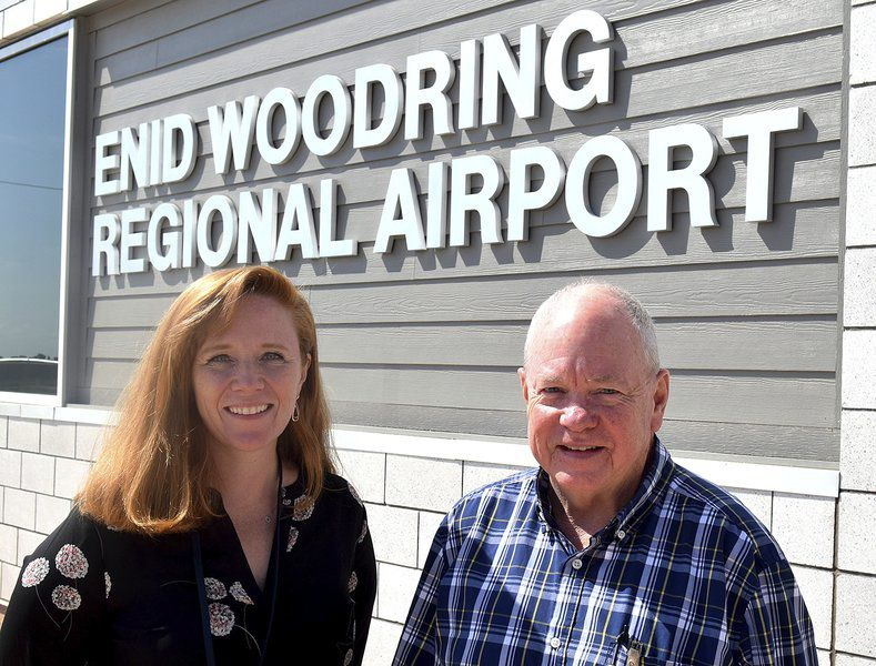 New airport director introduced at Woodring
