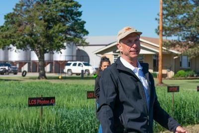 Kay County wheat field day