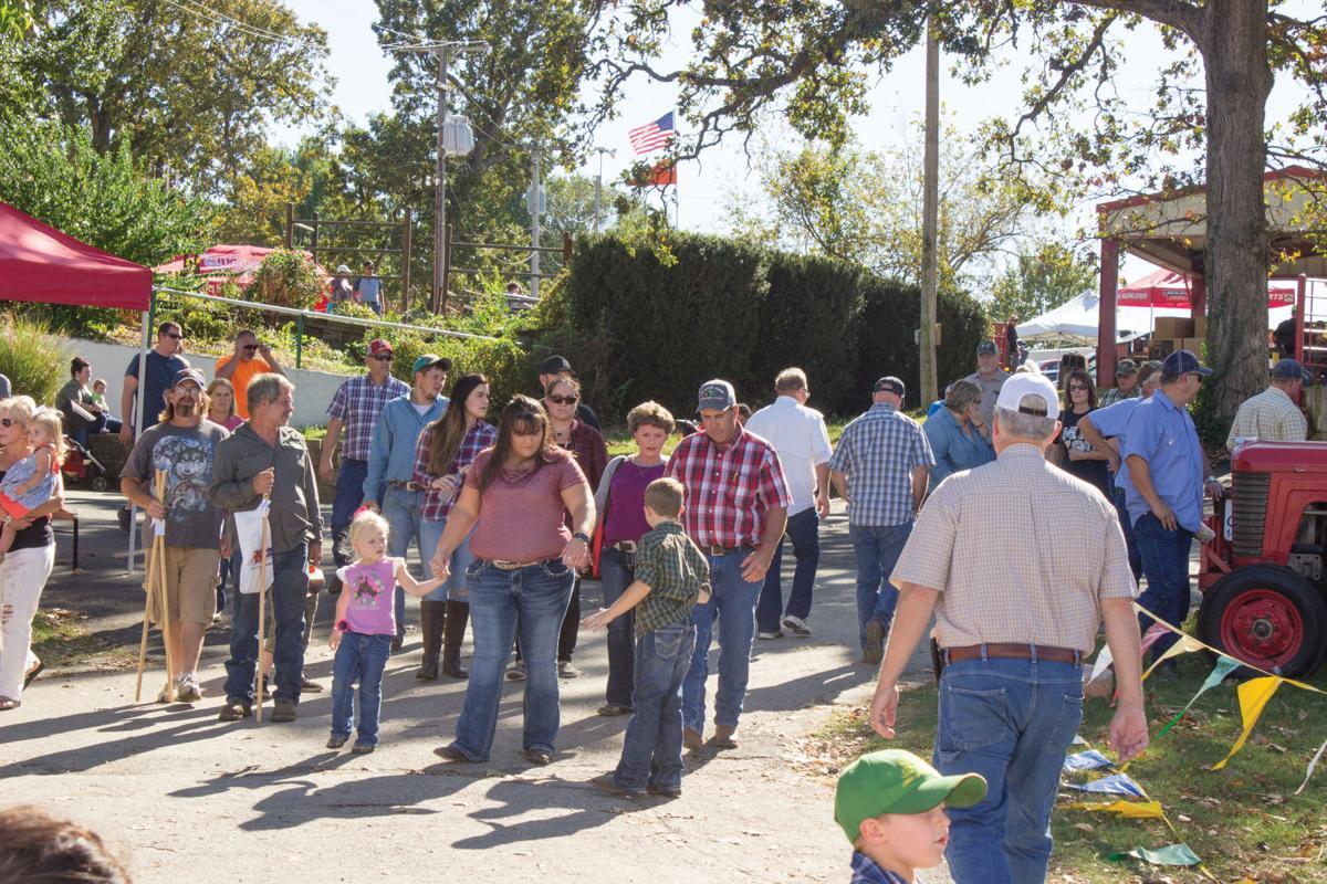 Ozark Fall Farmfest Livestock Area