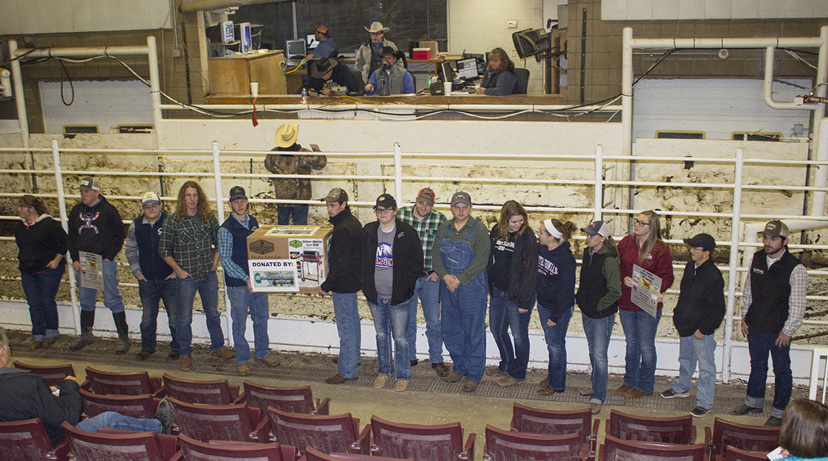 Crowder Agriculture Students