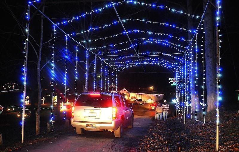 Fayetteville Wv Christmas Lights 2021 Fayette County Park To Host Winter Wonderland News Fayettetribune Com
