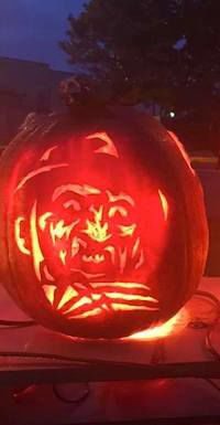 First place carved