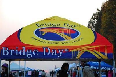 Bridge Day tent