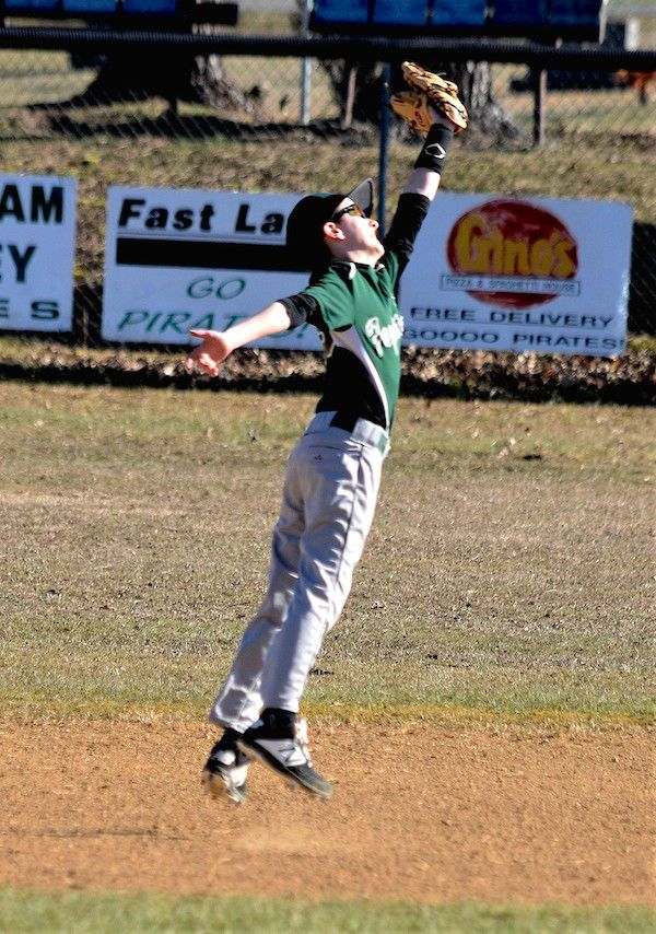 Leaping for the out
