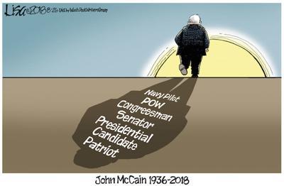 McCain remembered