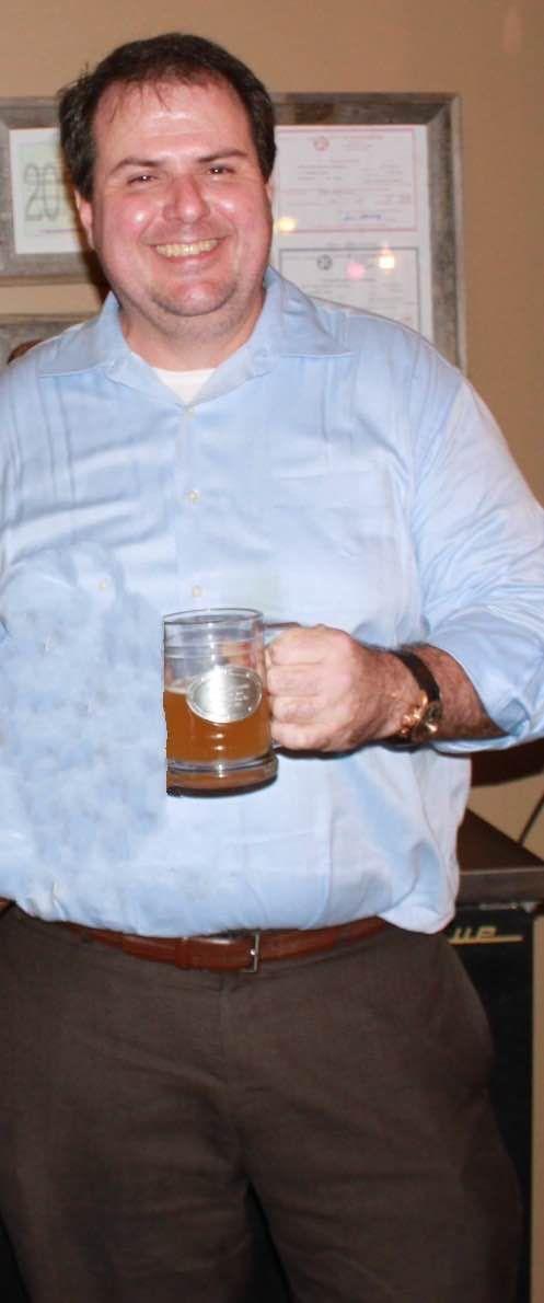 Eagle Creek Brewery owner Franklin Dismuke