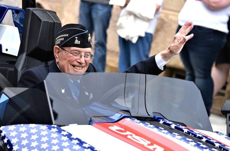 Williams in parade