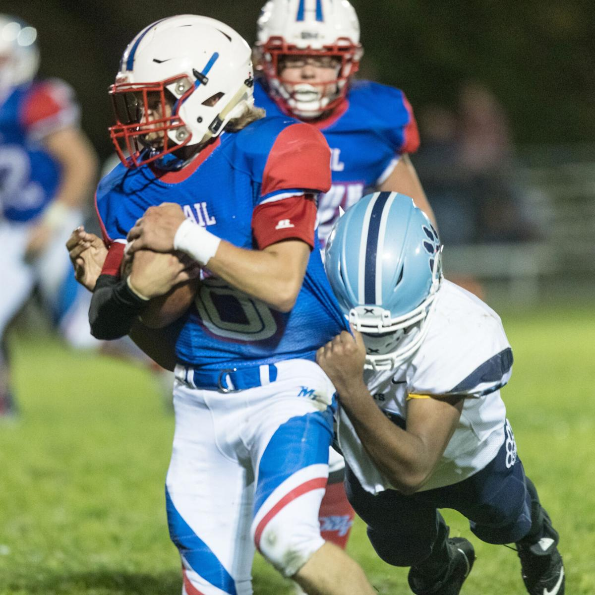Ruffner tackled