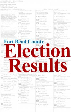 Fort Bend County Election Results     fbherald.com