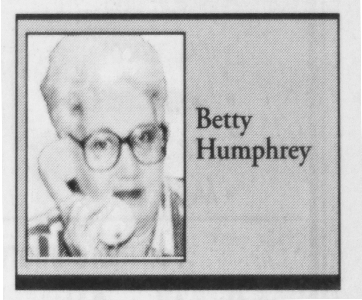 """""""Bits from Betty"""""""