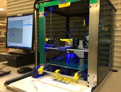 George Memorial Library 3D printer