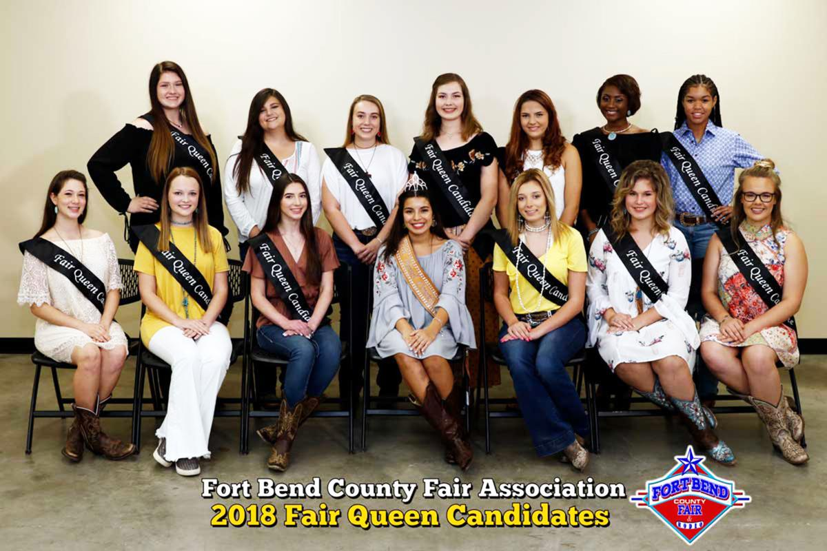 2018 Fort Bend County Fair Queen candidates | | fbherald com