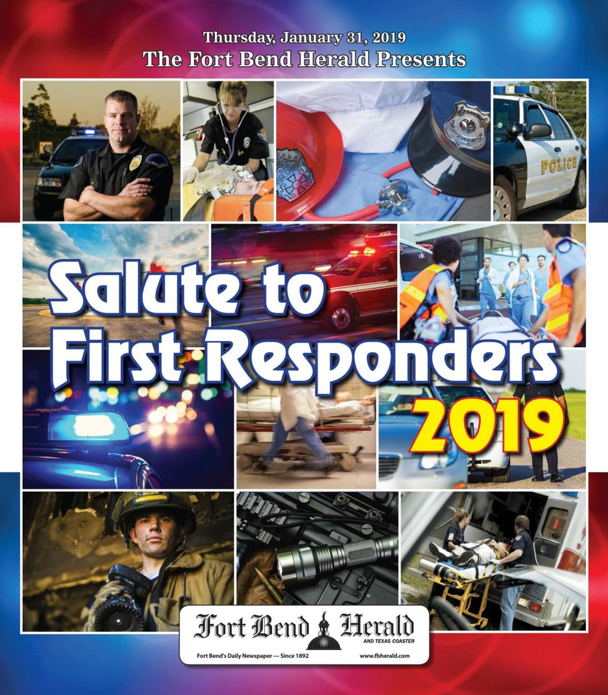 The Fort Bend Herald's 2019 Salute to First Responders