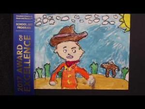2017 Houston Livestock Show LCISD art contest 4