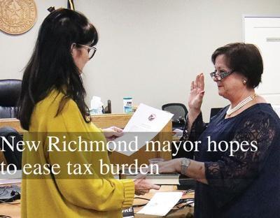 New Richmond mayor hopes to ease tax burden