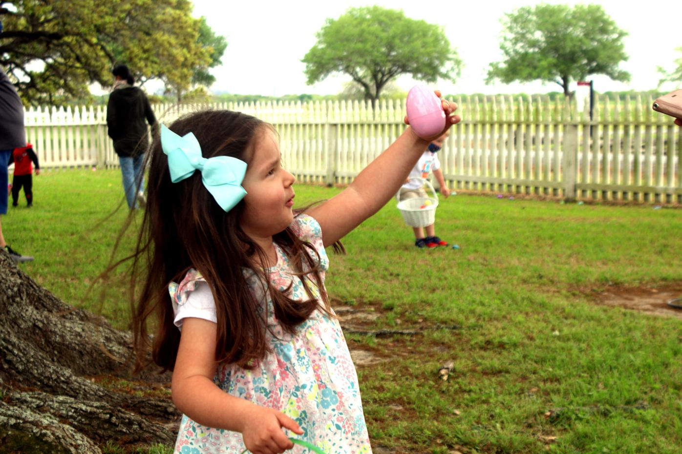 An egg hunt of epic proportions