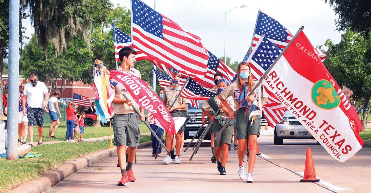 Needville teen helps form Scout troop, recruit members