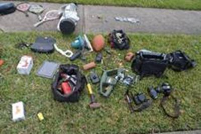 Stolen items recovered; DPS searching for owners