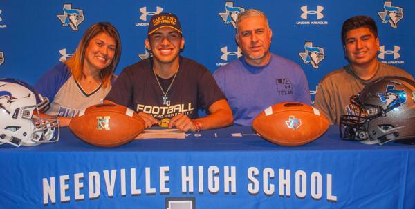 FOOTBALL: Needville's Cardiel signs with Lakeland University