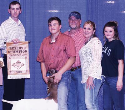 Atkinson, Boyd raise prize-winning goats