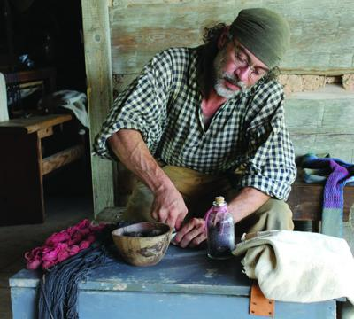 Pioneer Cloth Dyeing at George Ranch Historical Park