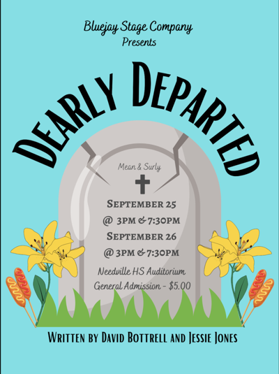 Blue Jay Stage Co. to perform 'Dealy Departed' Sept. 25-26
