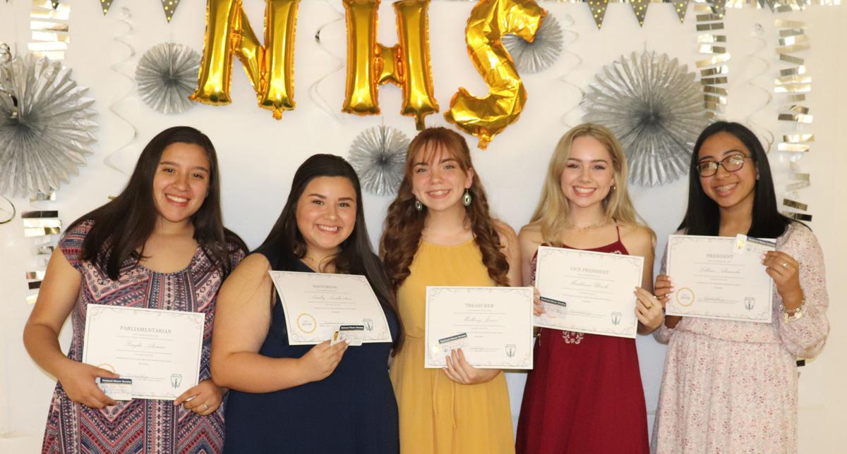 2019-20 National Honor Society officers