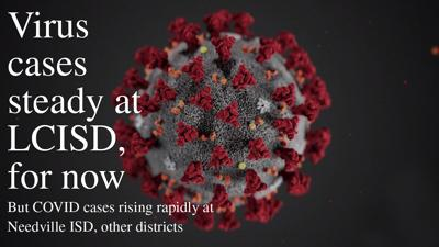Virus cases steady at LCISD, for now